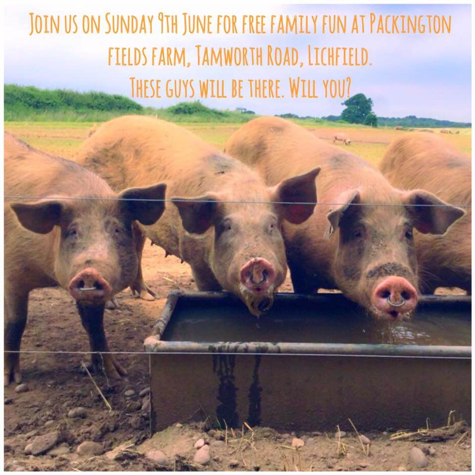 Come and join us for Open Farm Sunday on 9th June 2019