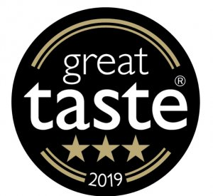 Great Taste Award 2019 3 star award