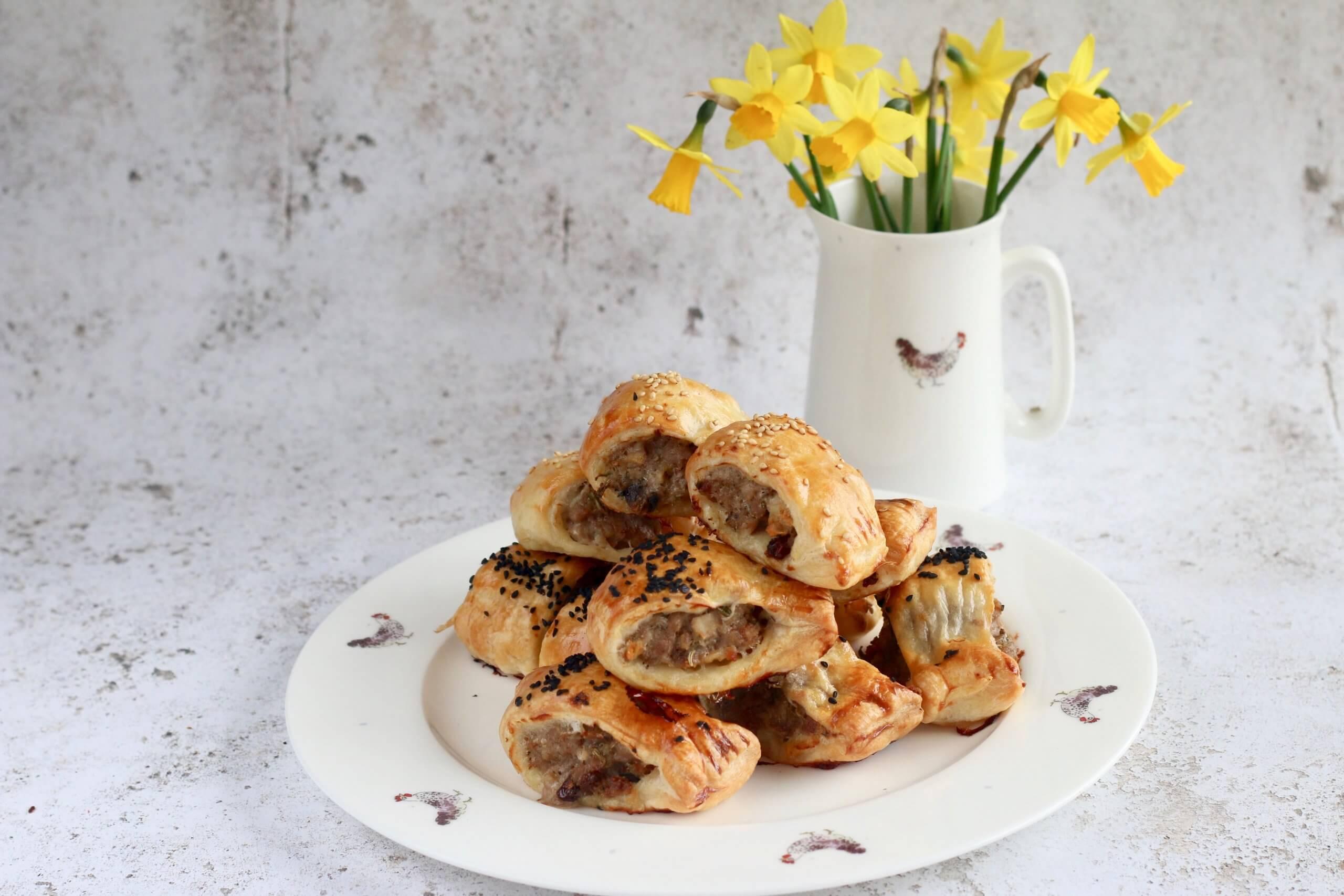 Packington Pork and Chicken Sausage Rolls